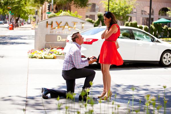 Family - Surprise Proposal -Lauren & Ray