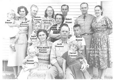 Kissner Klann Family Tree