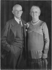 Wilson Fred & Hortense at Bertha's wedding to Ed Patotzka in Sep 1928