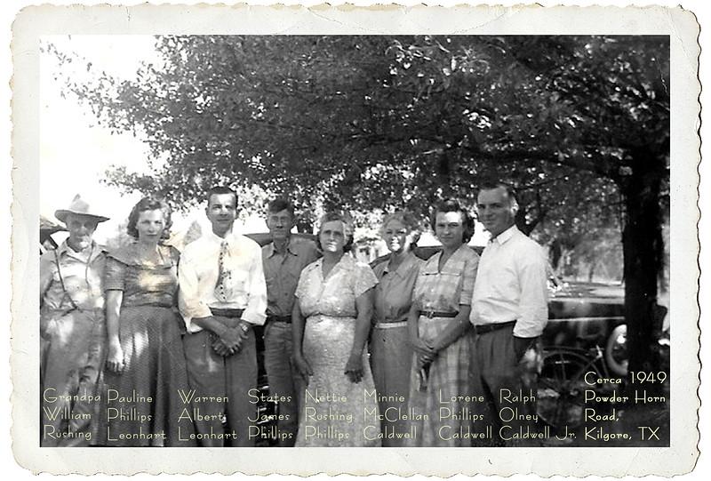 States Phillips Family 12 Enlargmnt