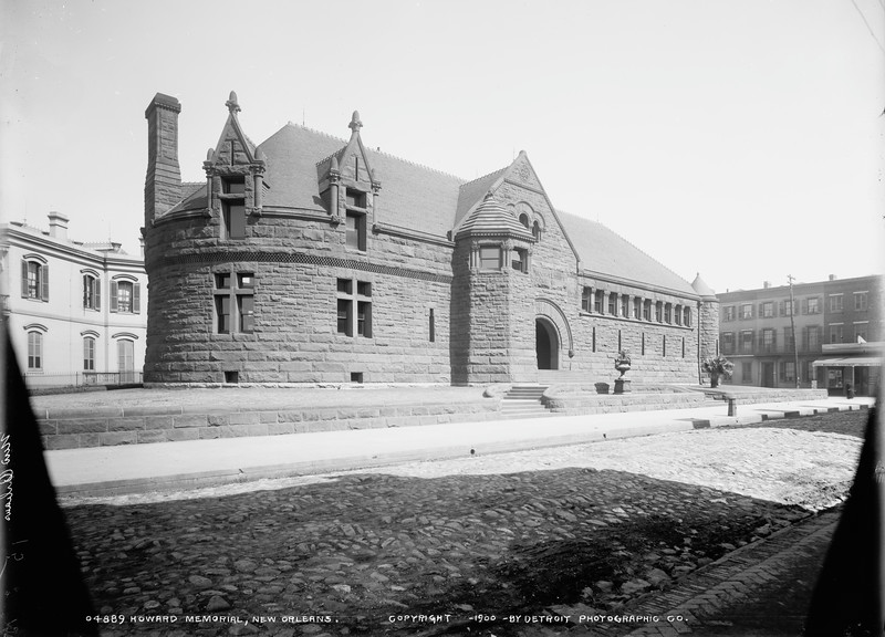 Wilson Built Howard Library in New Orleans 1886-1889-D2