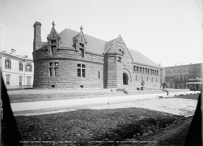 Wilson Built Howard Library in New Orleans 1886-1889-D2