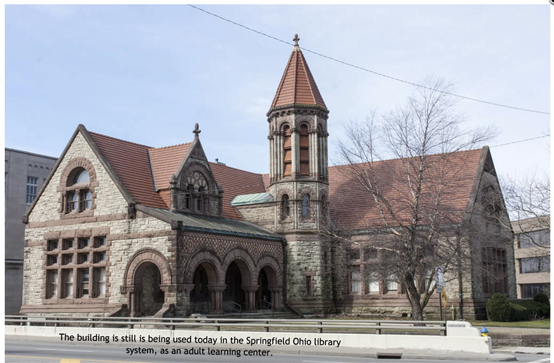 Wilson Built Library in Ohio is still in use as of 2018