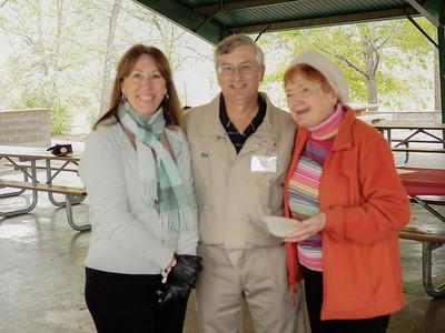 Students: Deedra & Bob Joseph with Mary Friday