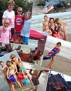 Aug 2012 Day at Beach with Templetons