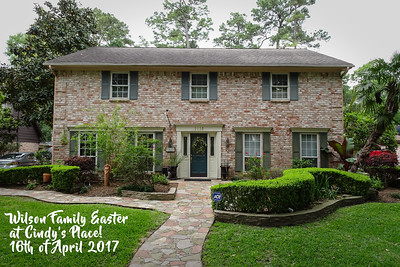 2017 Easter at Cindy's Place