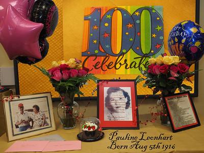Pauline's 95th & 97th Birthdays Plus scans