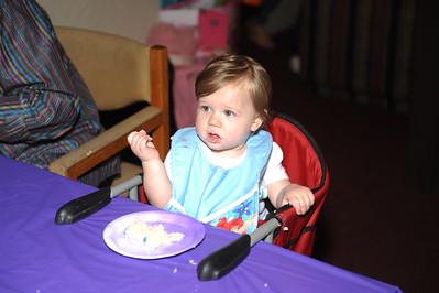 Abigail's 1st Birthday - 02 April 2016