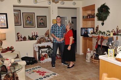 FotoMob Christmas 2012 @ Noni's House Honoring Sam Lawler USAF Upon His Surprise Arrival Home for Christmas