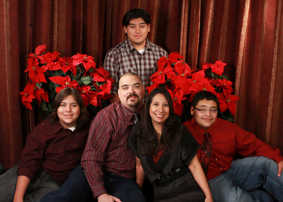 The Pena Family 2010  Xmas Photos