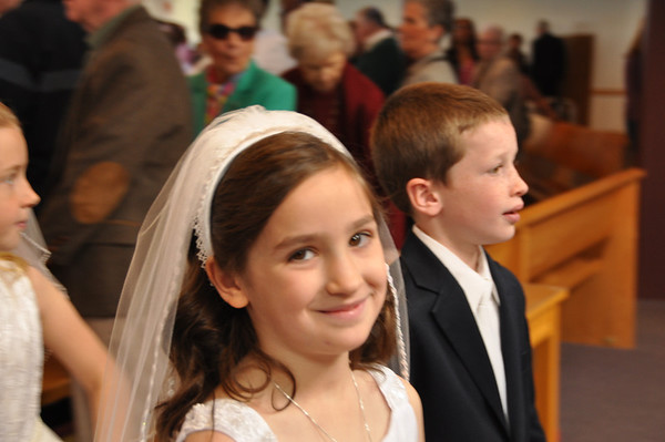 Melissa's First Communion