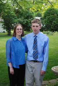 Aaron 8th Grade Graduation