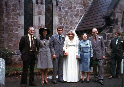 Lynette McEvoy's Wedding 1976