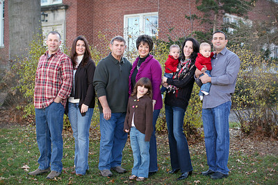James Family- Fall 2012