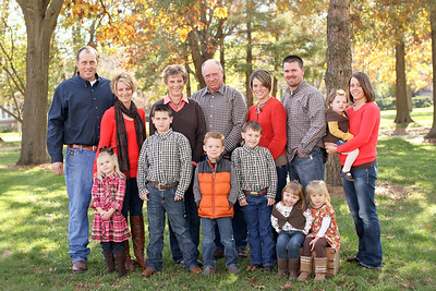Sampson Extended Family- 2012