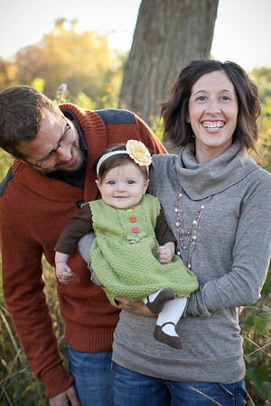 Tillford Family- Fall 2012