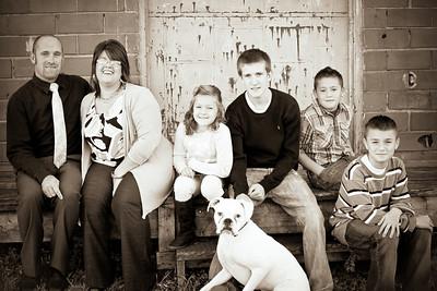 Ward Family- 2012