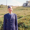 1950ca_C15-Young Officer Walter Haaser in Blues on mb Okinawa