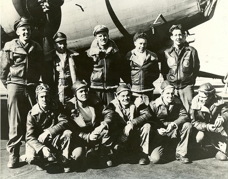 Walter B Haaser B17 Crew Graduation Photo