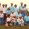 Haaser & O'Karma Family Portrait at July 1992 Reunion Chatham MA