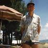 1950ca_C15-Walt Haaser in Bathing Suit Far East