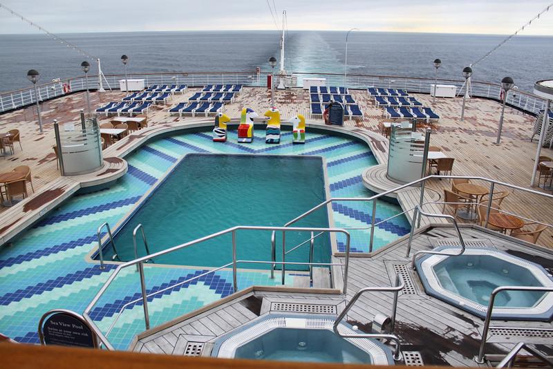 Aft pool area.
