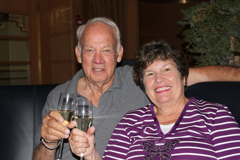 Companions Bruce and Linda Bott.