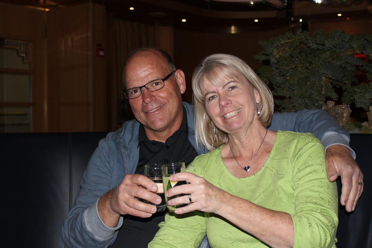 Companions Brent and Janice Davenport.