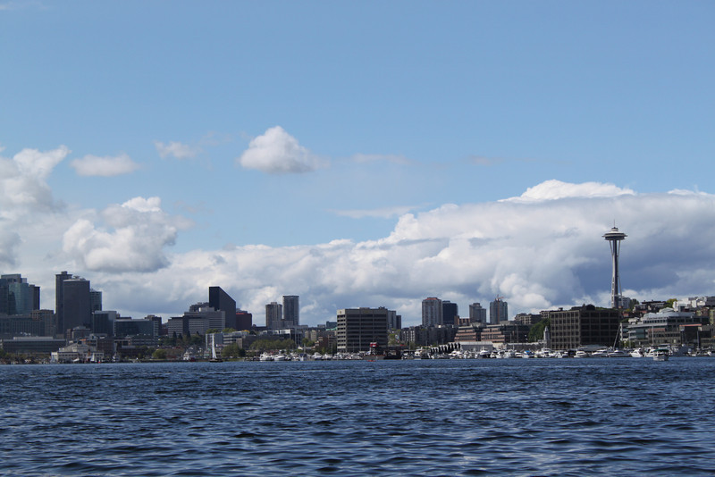 Seattle skyline from Lake Union.
