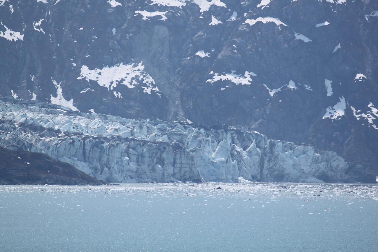 Reid Glacier closeup.