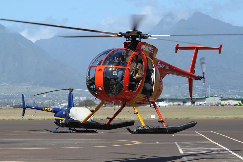 Maui and Molokai flyover with Alex Air.