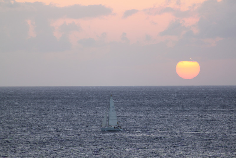 Sunset, day 1