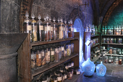 The Apothecary with potions.