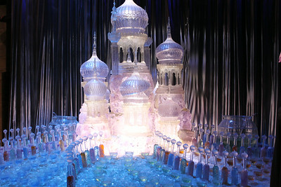 Ice Sculpture at the Ball.
