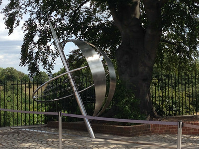 The actual Prime Meridian marker.