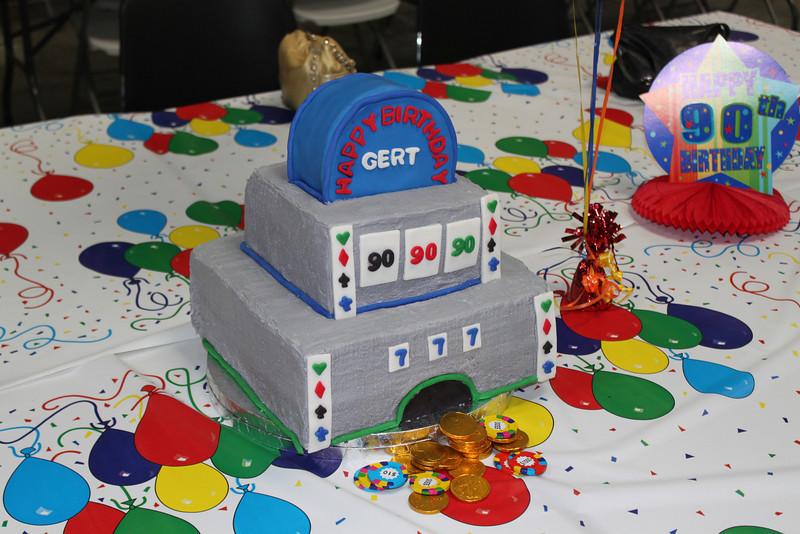 Cool cake, Aunt Gert had 4!
