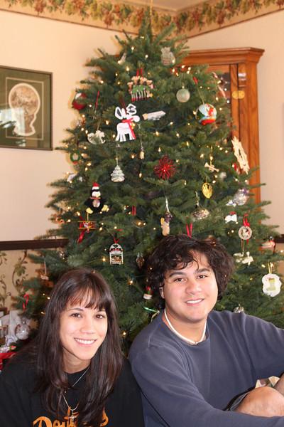 Rosie and Douglas, Christmas 2010.