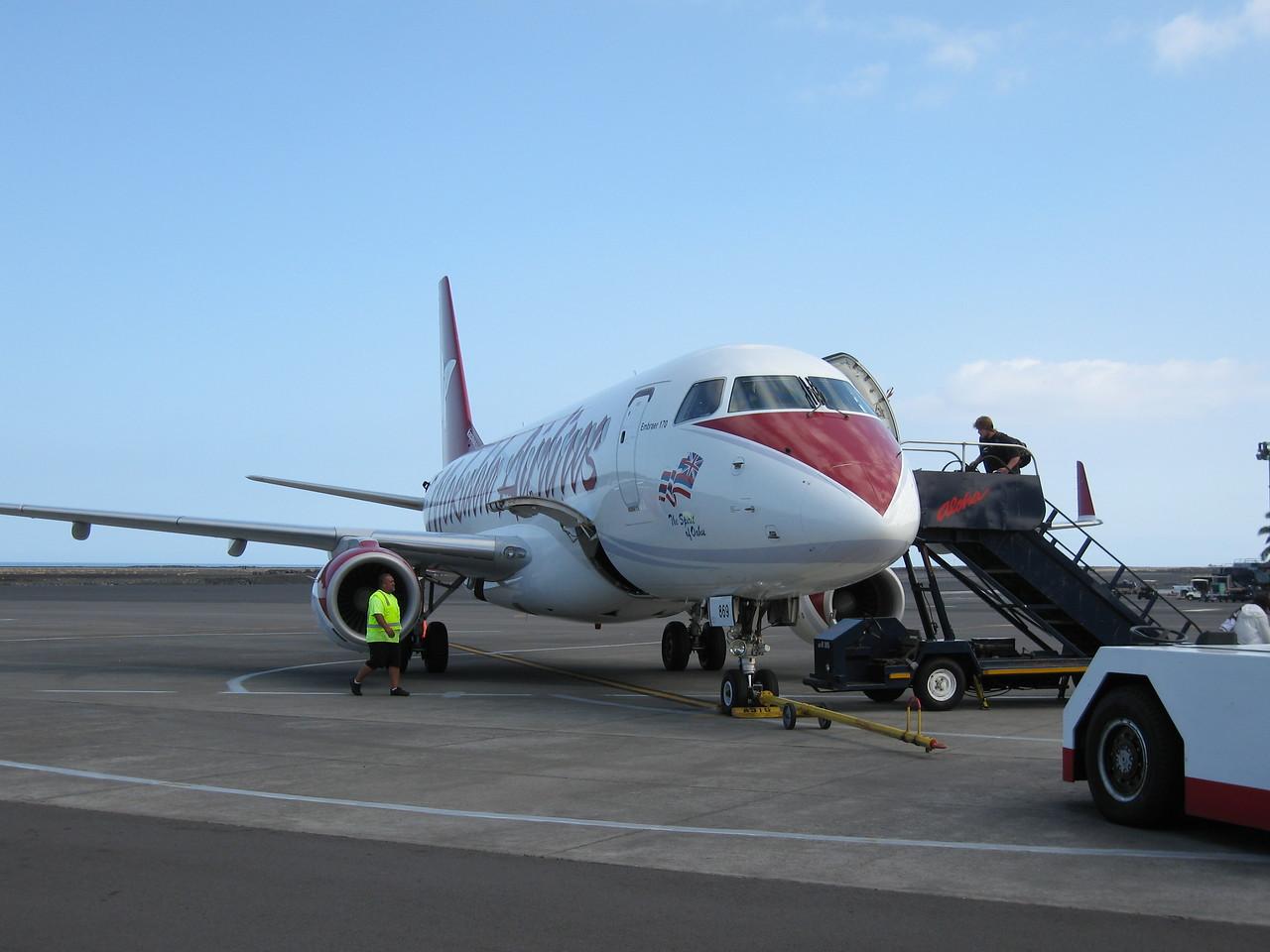 Mokulele trip to Oahu.