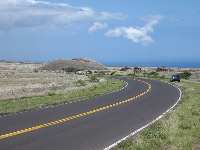 Another day in Paradise, driving into Waikoloa from Waimea.