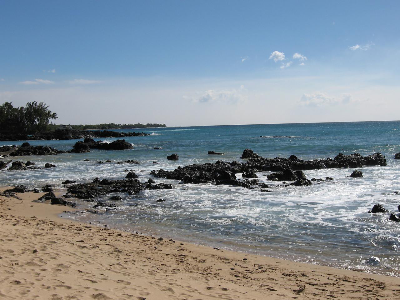 Pauako Beach on Day 6, Saturday.