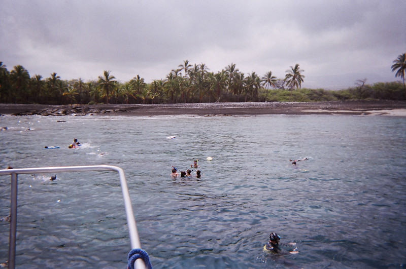 Aboard the Sea Smoke at the Ke-awa-iki beach!