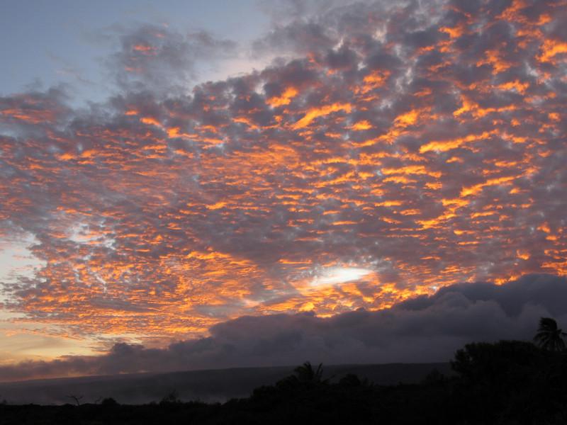 Grandma's Sunset at 7:45 p.m. on July 27, 2009.