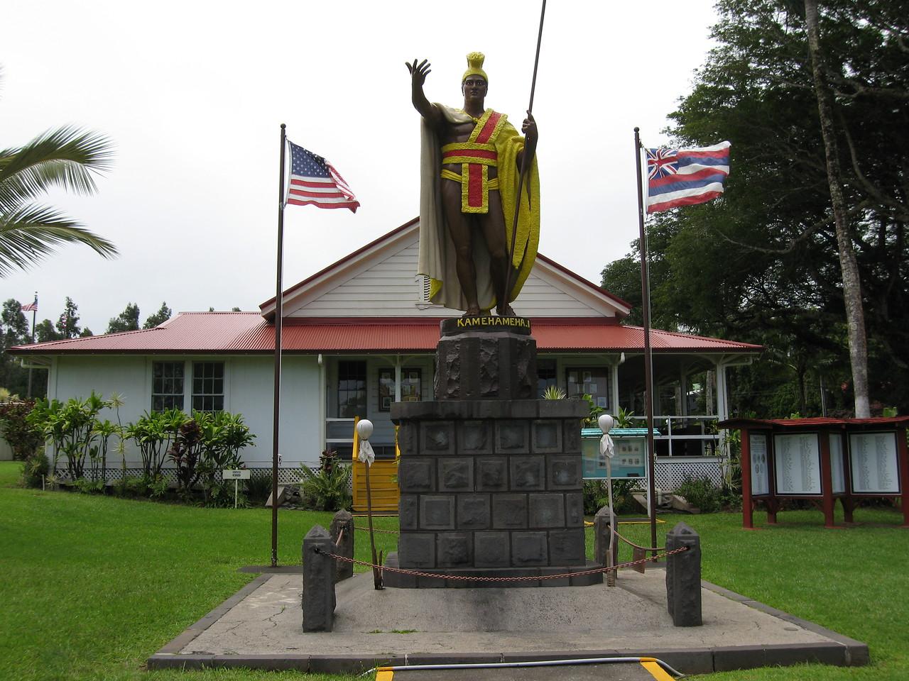 King Kamehamema statue in Kawi.