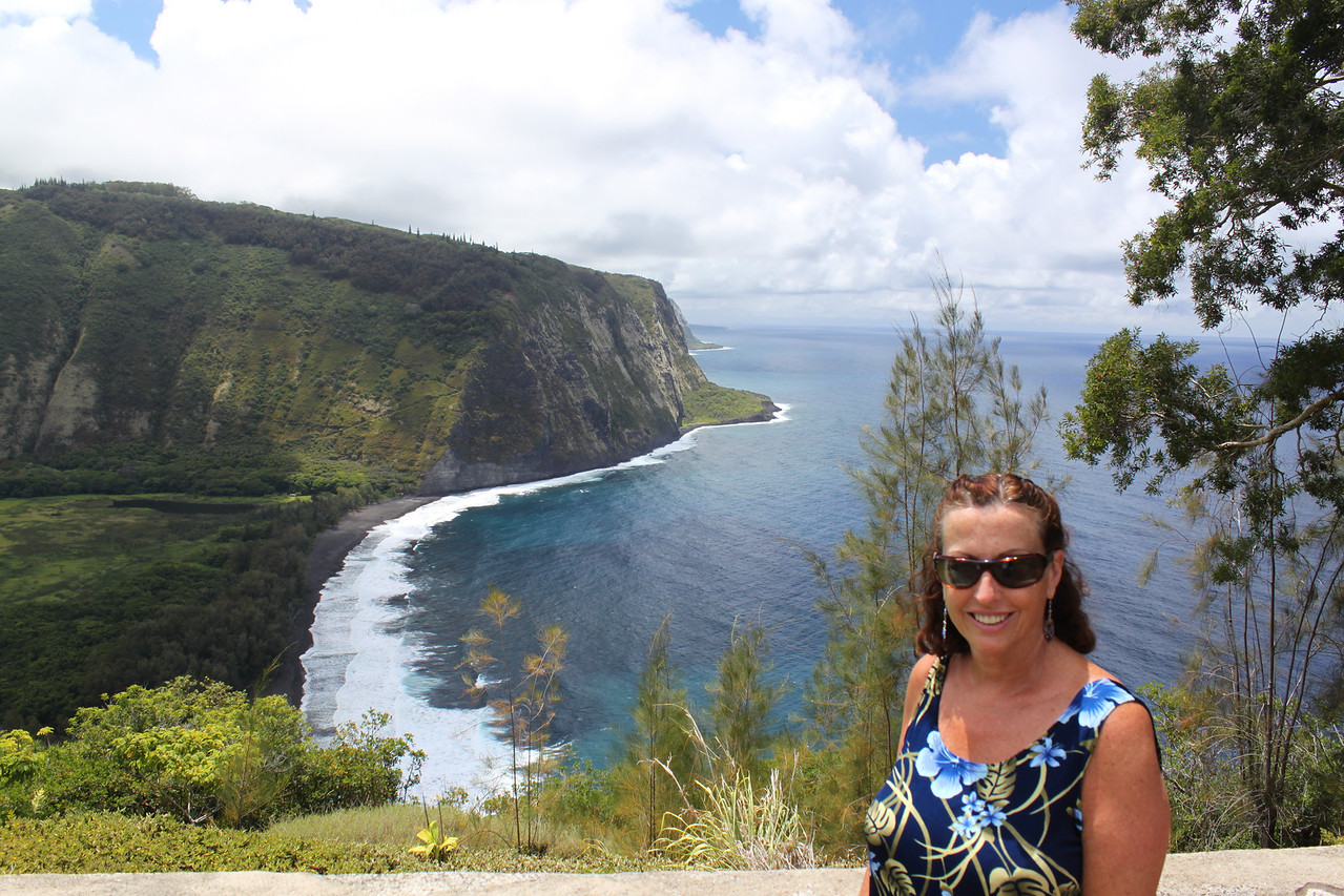 Waipi'o Bay overlook.