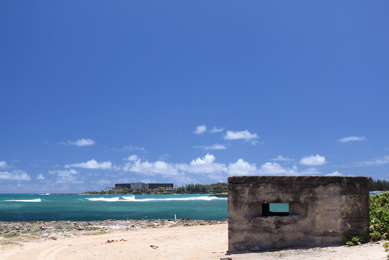 WWII bunker to protect the north shore during WWII