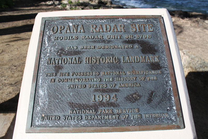 Opana radar site, what if ...