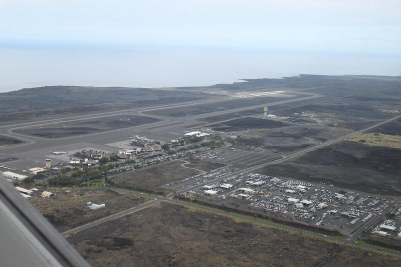 Kona airport.