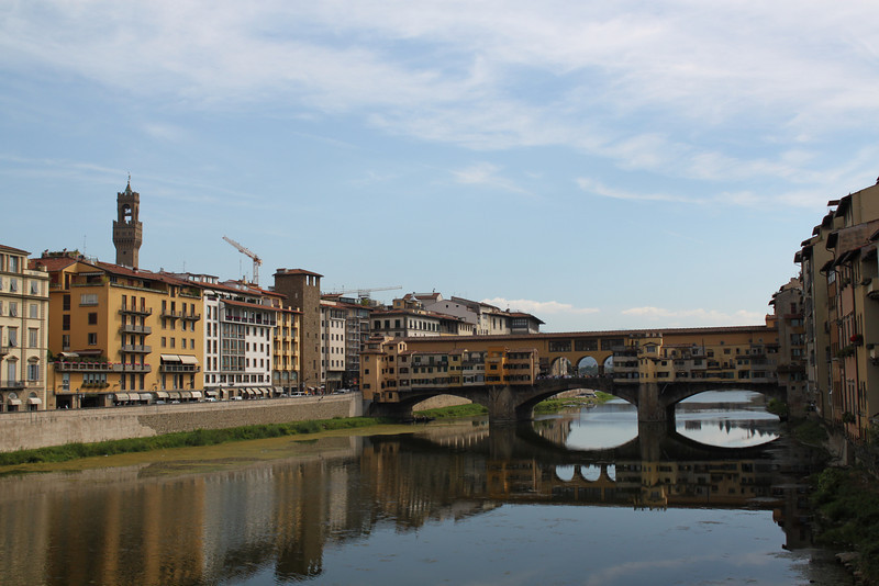 Exploring Florence, the Ponte Vecchio.