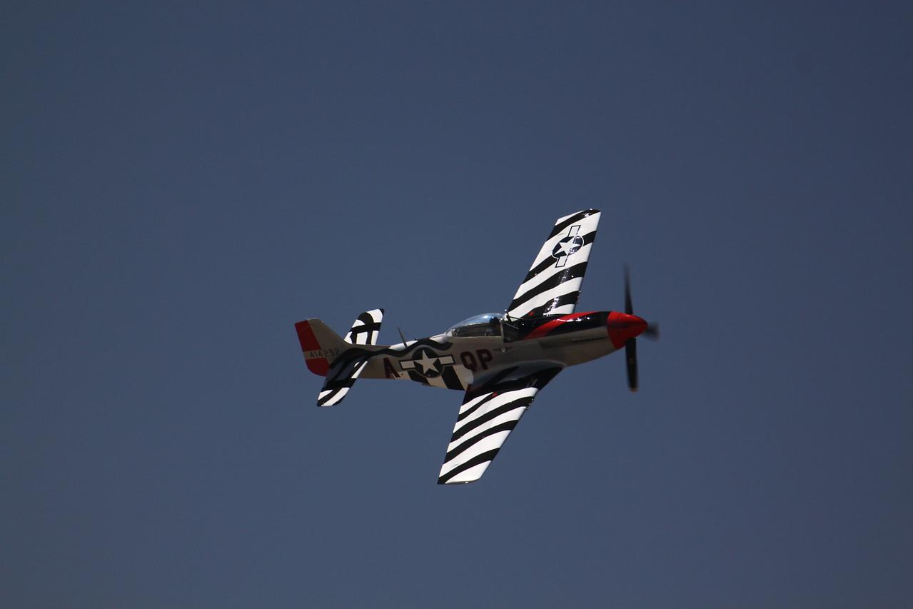"""North American P-51 Mustang """"Man o' War""""."""