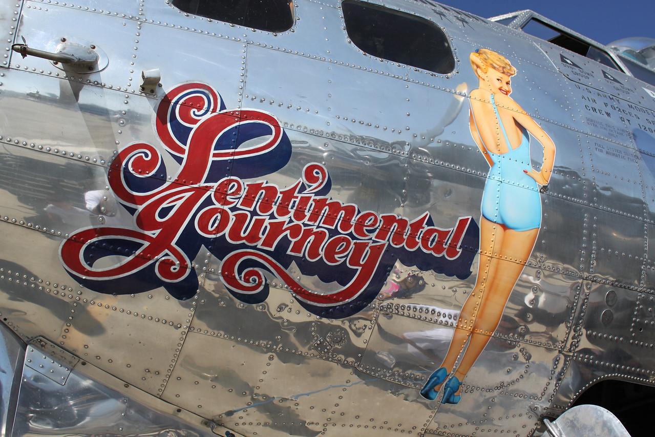 B-17 Sentimental Journey.